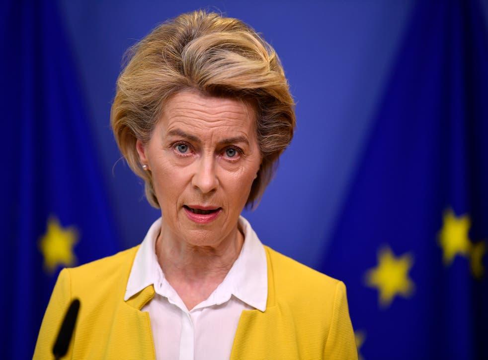 Virus Outbreak Belgium EU Vaccine