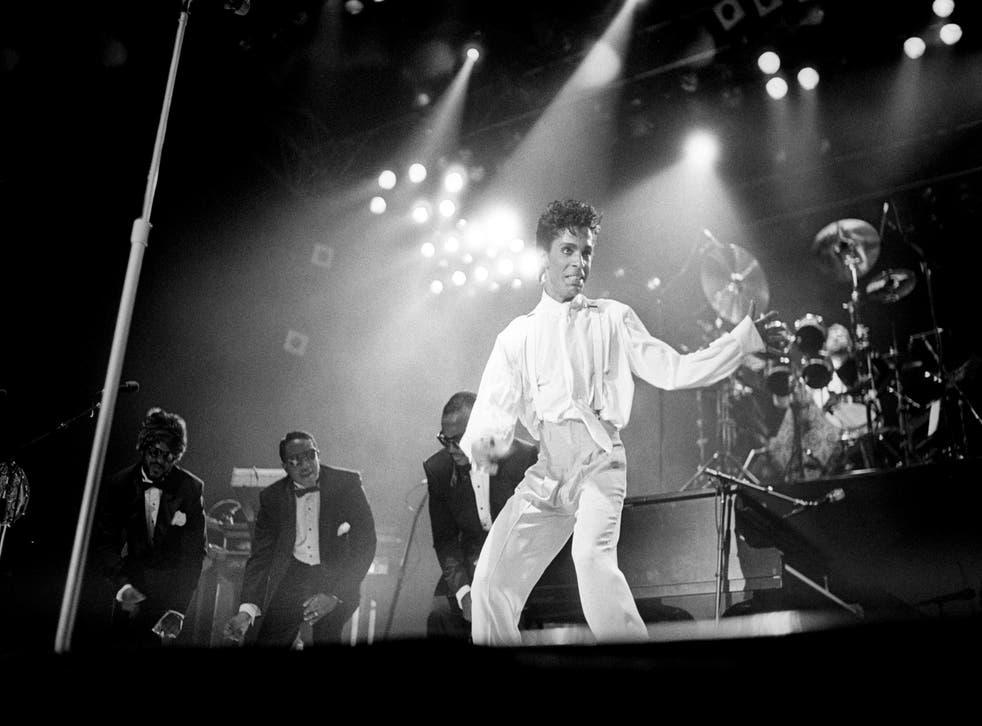 Music – Prince – 'Parade Tour' – Under the Cherry Moon Tour – Wembley Arena, London