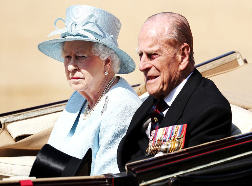 Queen Elizabeth II and the late Duke of Edinburgh