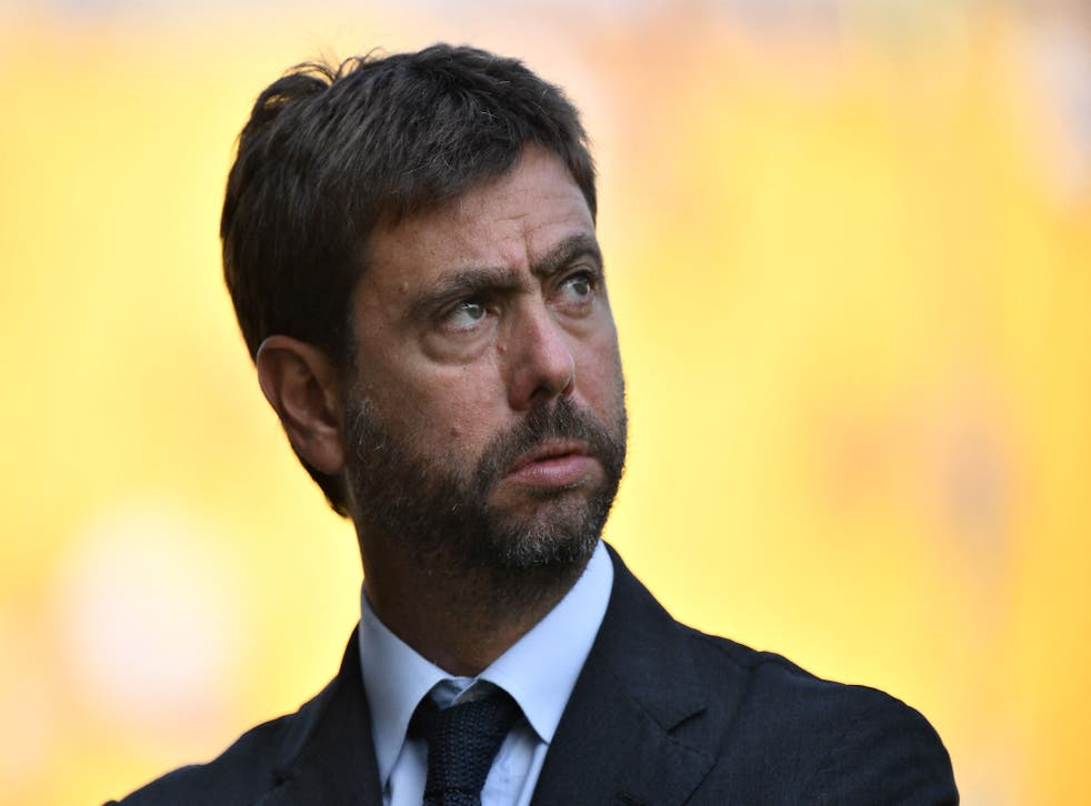 Andrea Agnelli has been a key player in the Super League plan