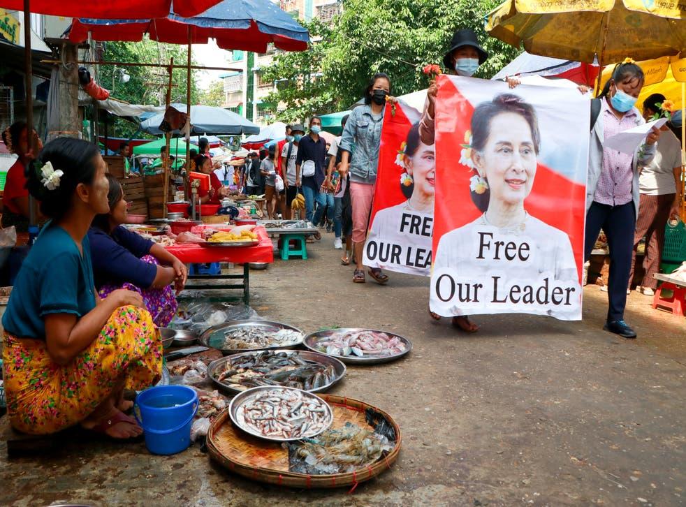 Myanmar Economy Derailed