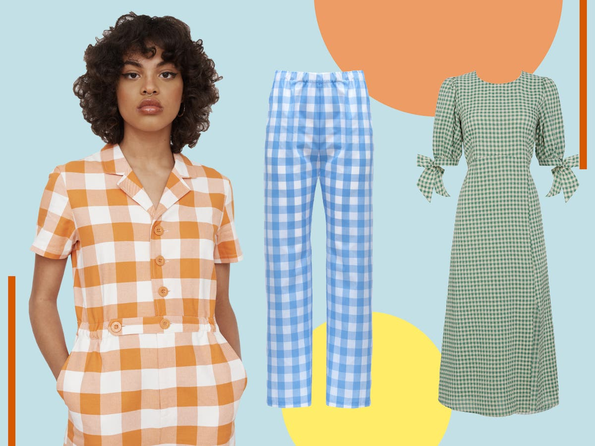 Best gingham dresses, trousers and shirts to buy in 2021