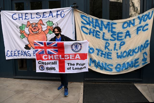 <p>All six English football clubs pulled out of the proposed European Super League on Tuesday following widespread disapproval from fans</p>