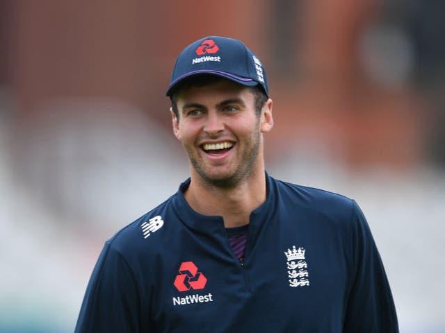 <p>England batsman Dom Sibley</p>