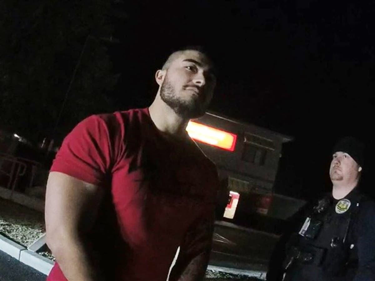'Don't put my f***ing career at risk' says police officer who used racial slur after being pulled over for DUI - independent