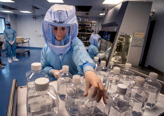 Virus Outbreak Germany Vaccine Surge