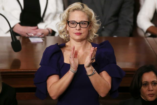 Company behind Krysten Sinema's F*** Off ring announces proceeds will go to organisation fighting for increased minimum wage