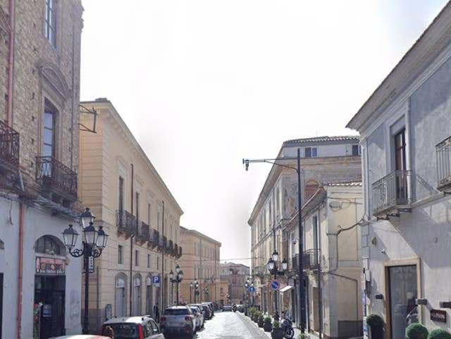 The man is reported to have skipped work in Catanzaro (pictured), south Italy, for 15 years