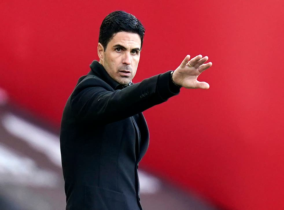 <p>Arsenal manager Mikel Arteta praised the response of football fans in their opposition to the Super League</p>