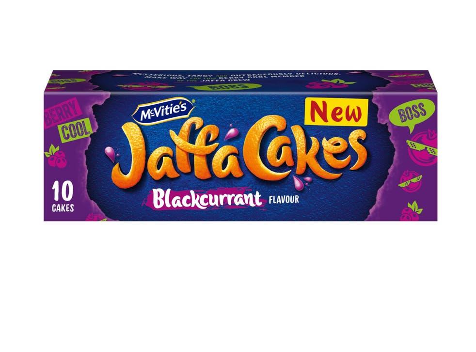 The new Blackcurrent Jaffa Cakes set to hit supermarket shelves
