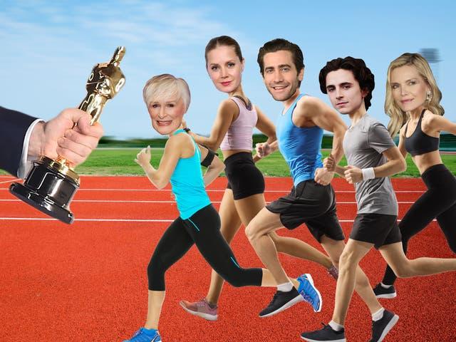 Alérgicos a los premios Oscar: Glenn Close, Amy Adams, Jake Gyllenhaal, Timothée Chalamet y Michelle Pfeiffer