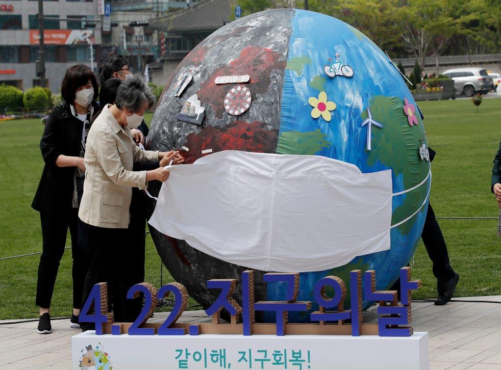 South Korea Earth Day