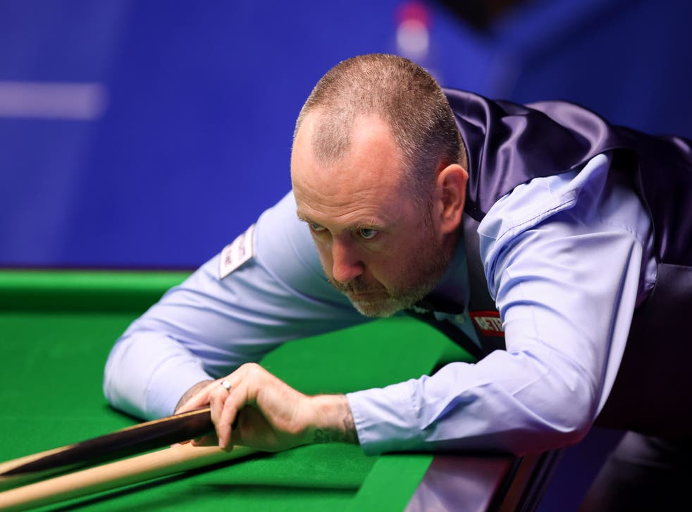 <p>Mark Williams advanced to the second round on Wednesday</p>
