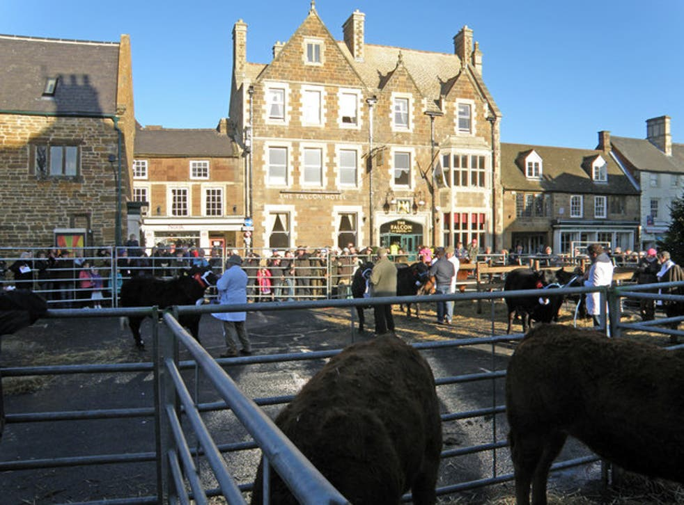 <p>Uppingham is known for its winter fatstock show</p>