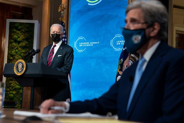 APTOPIX Biden Climate Summit