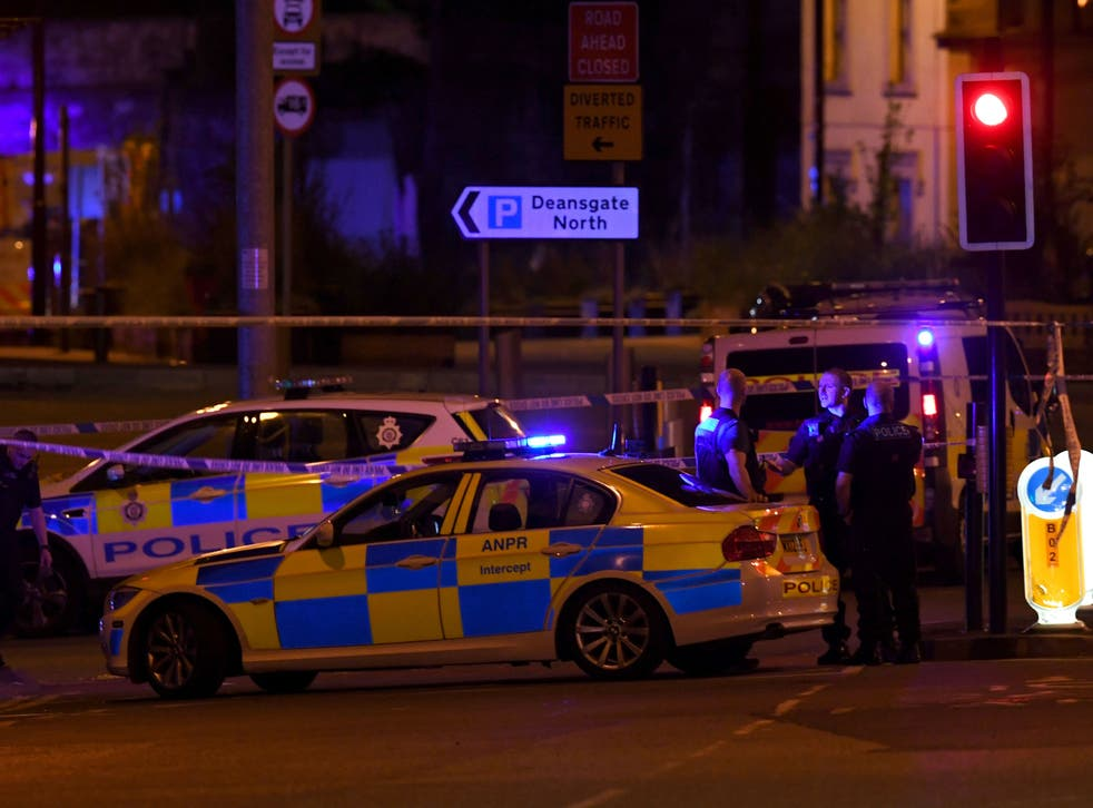 <p>Twenty-two people were killed and hundreds of others injured in a terror attack at Manchester Arena on 22 May 2017</p>