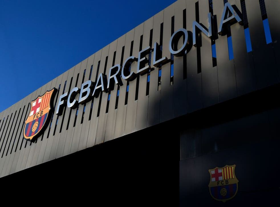 <p>The Catalan side were intended to be one of three LaLiga sides as founders</p>