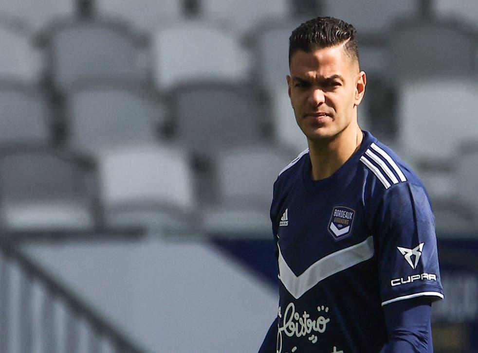 <p>Bordeaux forward Hatem Ben Arfa</p>