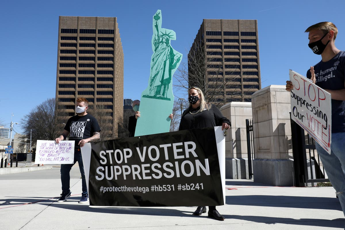 148 bills to give GOP lawmakers more power over elections could be 'death knell' for democracy, officials warn - independent