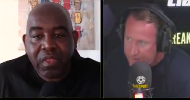 Robbie Lyle of AFTV and Ray Parlour clashed over Arsenal's ownership and his YouTube channel