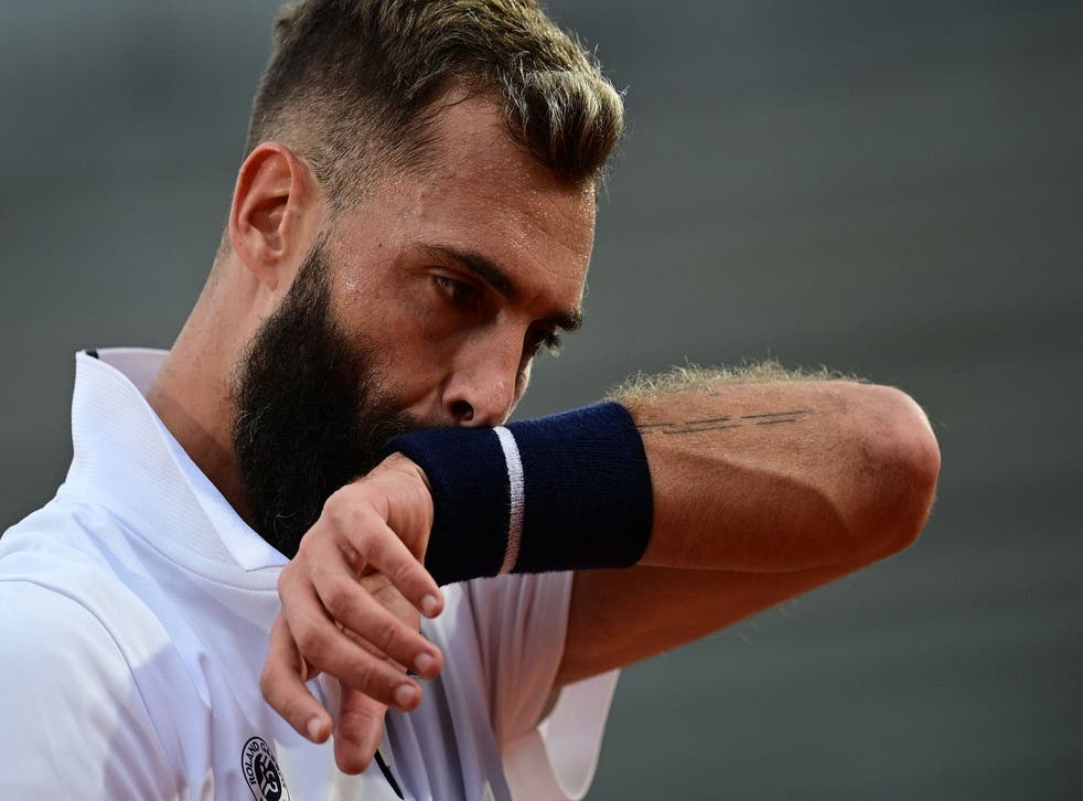 <p>Benoit Paire's behaviour was criticised by the  French Tennis Federation</p>