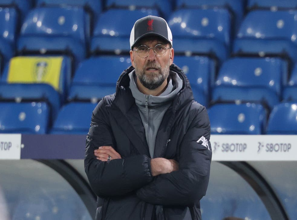 <p>Liverpool manager Jurgen Klopp</p>