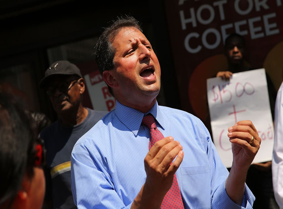<p>Brad Lander has had been caught eight times in five years by speed cameras that he campaigned for</p>