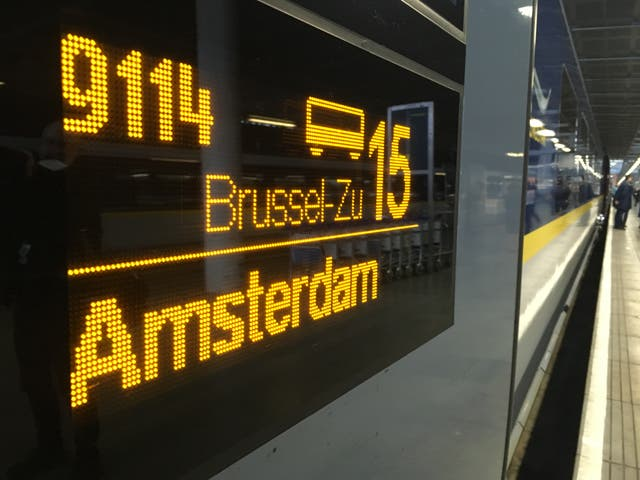 Departing soon? Many European rail tours begin with a Eurostar journey from London St Pancras
