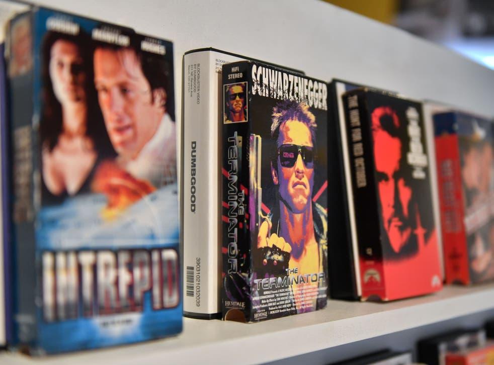 Alquiler de películas VHS