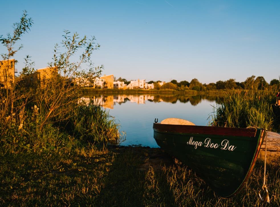 <p>Lower Mill Estate provides a lakeside retreat</p>