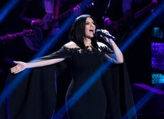 Laura Pausini está lista para cantar en los Oscar