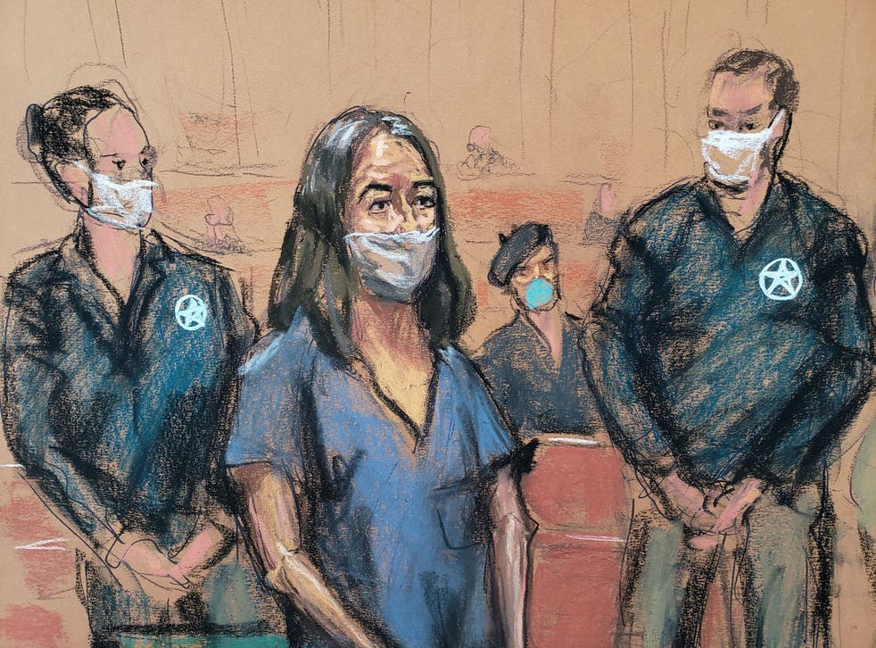 <p>Ms Maxwell pleads not guilty to new charges of sex trafficking for her ex-boyfriend, Jeffrey Epstein</p>