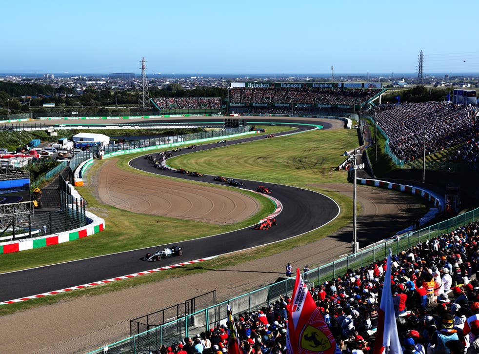 A general view of the Suzuka Circuit