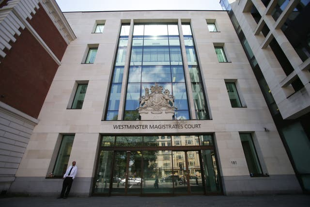 <p>Carey will appear before Westminster Magistrates' Court via video link today</p>