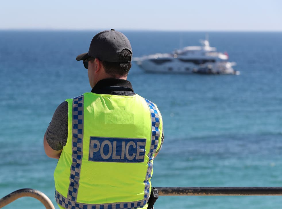 <p>Stock image of police officer in Queensland, Australia</p>