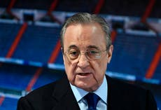 Super League: English clubs 'cannot leave' due to binding contract, says Florentino Perez