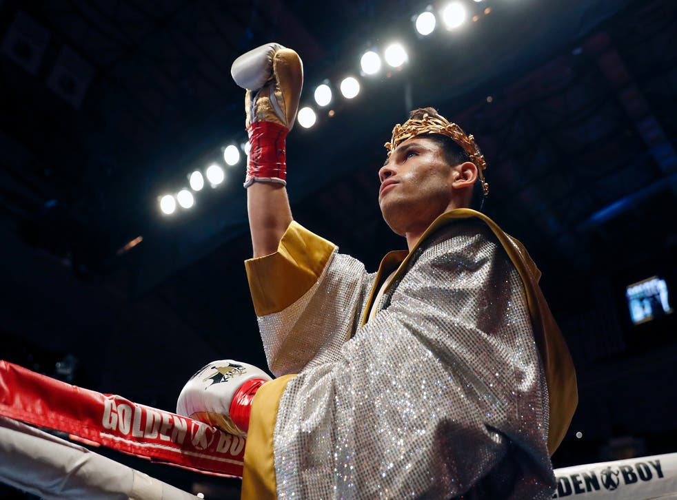 <p>Ryan Garcia has recorded 18 knockouts in his first 21 fights</p>