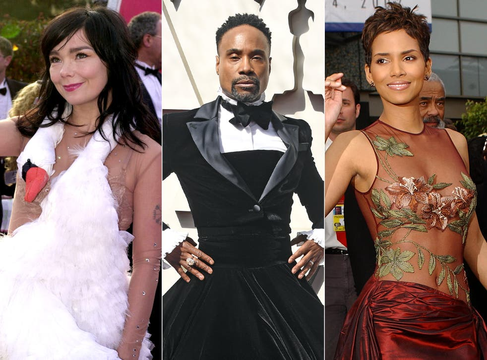 <p>Björk, Billy Porter and Halle Berry: some of the fashion pioneers the Oscars have inspired</p>