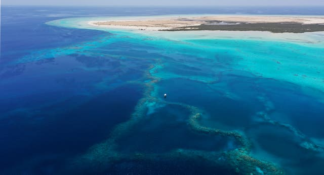 <p>Red Sea islands are opening up to sustainable tourism as part of Vision 2030</p>