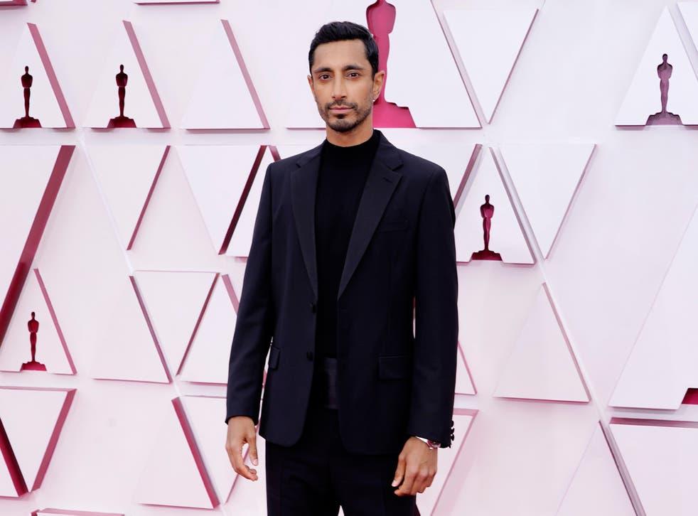 Riz Ahmed at the 93rd annual Oscars