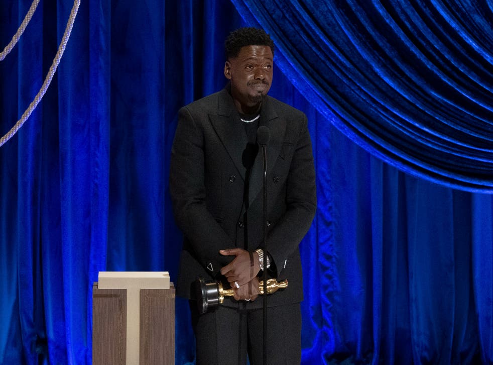 Daniel Kaluuya accepts Academy Award for his role in Judas and the Black Messiah