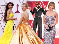 Oscars 2021: Best dressed stars on the red carpet, from Carey Mulligan to Zendaya