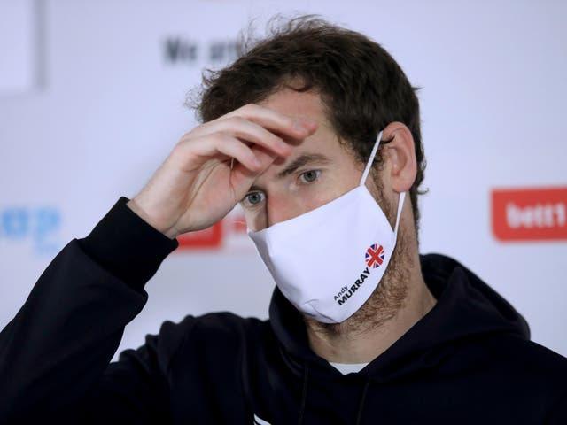 El tenista británico Andy Murray