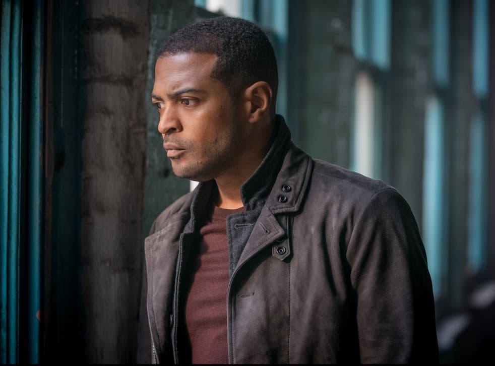 <p>Interested observer: Clarke as DC Martin Young</p>