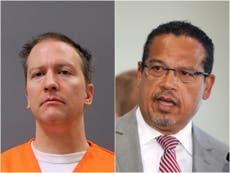 """El principal fiscal de Minnesota, Keith Ellison, dice que se """"sintió un poco mal"""" por Derek Chauvin"""
