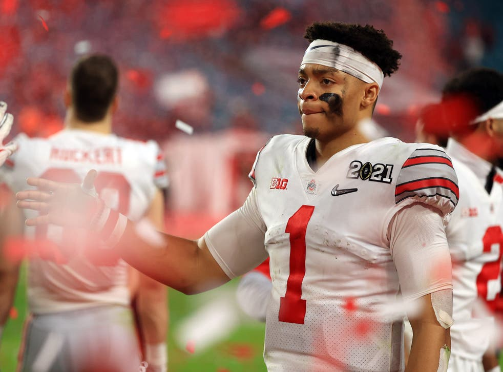 Justin Fields is one of the most highly-rated quarterbacks in this year's draft