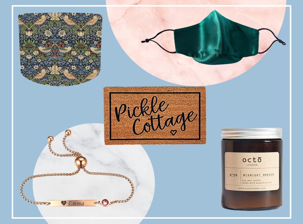 <p>From silk face masks to personalised jewellery, there's something for everyone to shop</p>