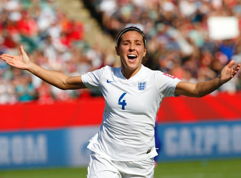 Former England midfielder Fara Williams