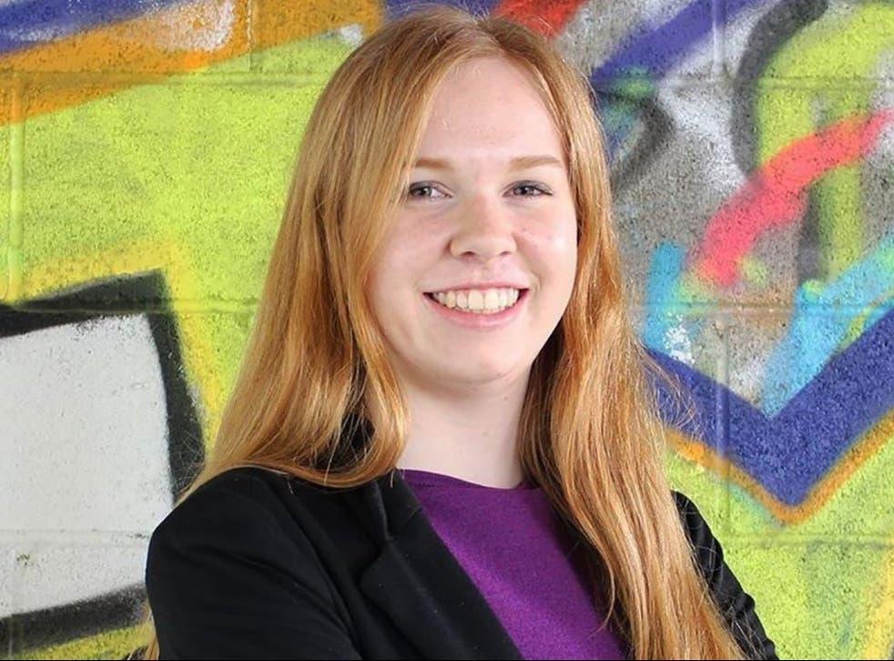 Aviva Okeson-Haberman en una imagen universitaria