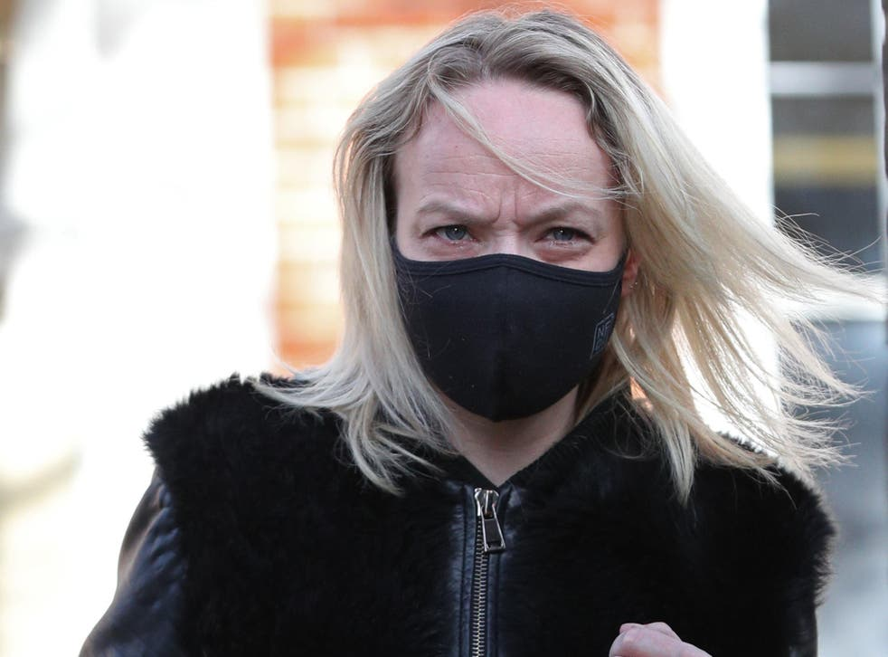 Rachel Street, who has been spared jail at Uxbridge Magistrates' Court in London following a drunken attack on a Virgin Atlantic flight